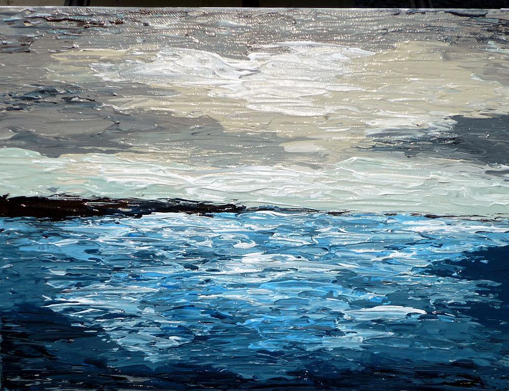 Ocean Seascape - Daniela Pasqualini - Acrilico