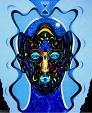 La maschera e il volto - Costantino Canonico - Olio - 1800€