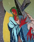 Cristo che porta la croce - Gabriele Donelli - Olio - 400€