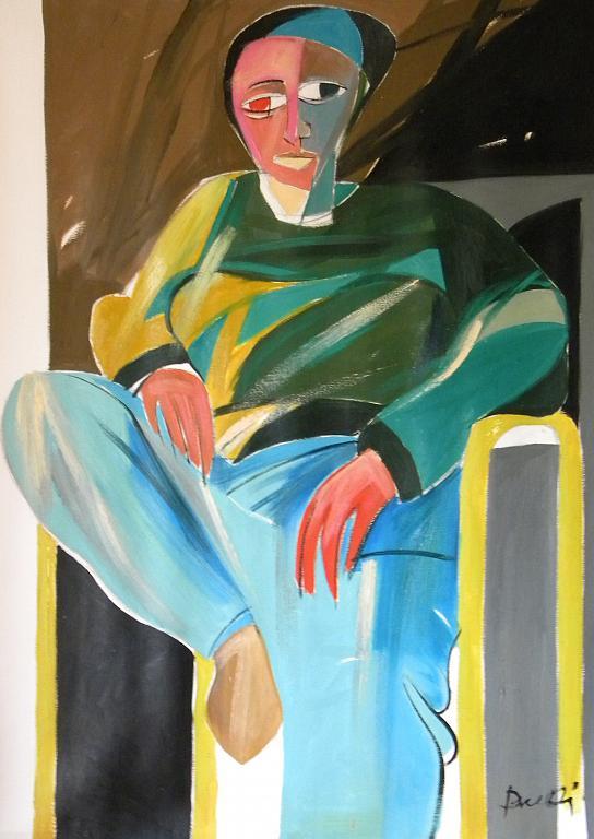 Ritratto di Luana Ghidotti - Gabriele Donelli - Olio - 2600 €