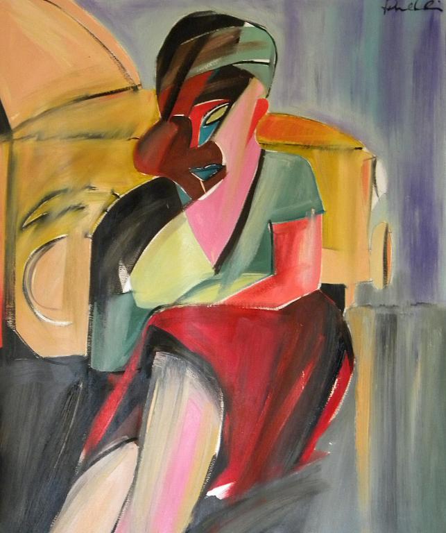 Ritratto di ragazza - Gabriele Donelli - Olio - 900 €