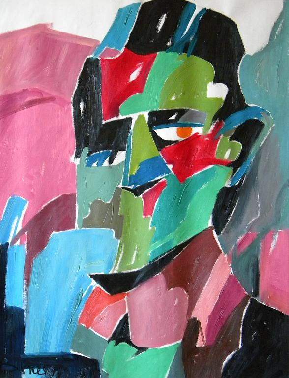Ritratto di Franz Kafka - Gabriele Donelli - Olio - 300 €