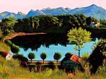 Lago lucano(2) - Michele De Flaviis - Digital Art