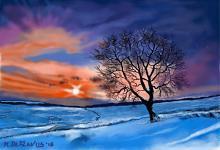 Nevicata! - Michele De Flaviis - Digital Art