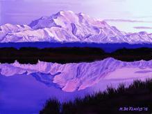 Montagne dell'Alaska - Michele De Flaviis - Digital Art