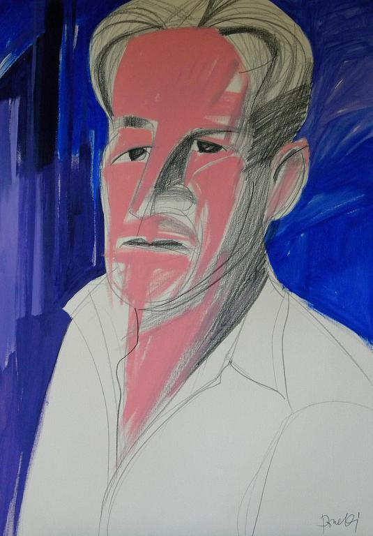 Ritratto di Willem de Kooning - Gabriele Donelli - Acrilico - 300 €