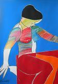 Bagnante - Gabriele Donelli - Pastello e acrilico - 400€