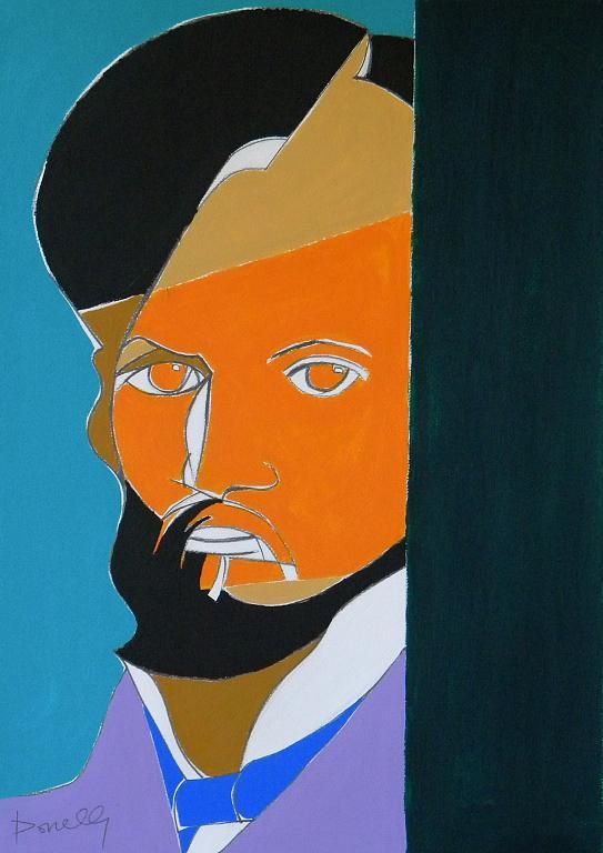 Ritratto di Pierre-Auguste Renoir - Gabriele Donelli - Acrilico - 300 €