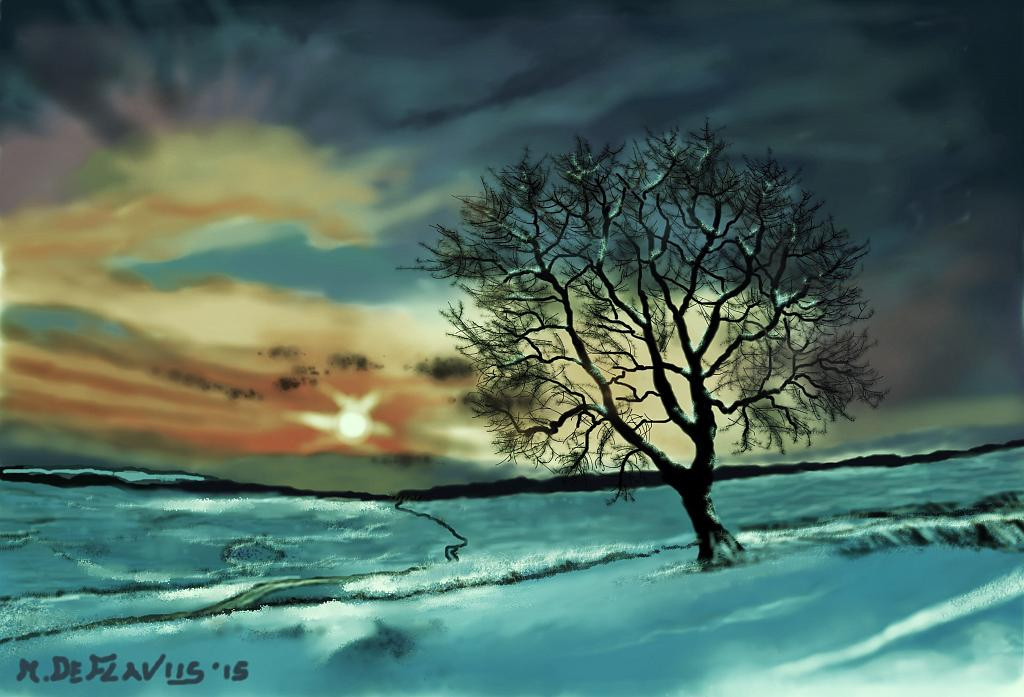 Nevicata (2) - Michele De Flaviis - Digital Art - 70 €