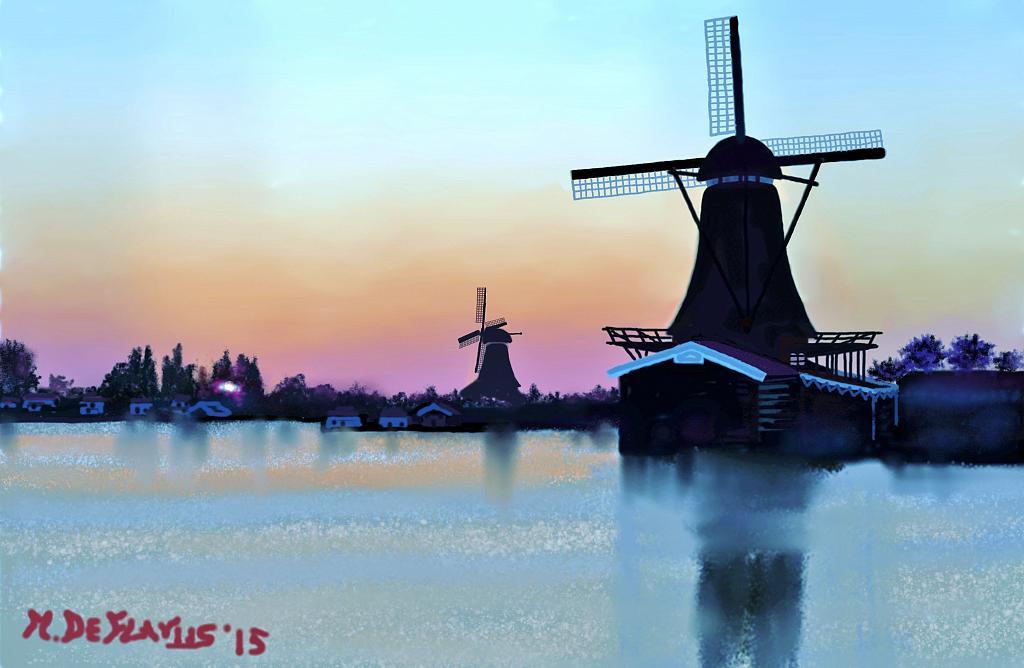 Mulini a vento(2) - Michele De Flaviis - Digital Art