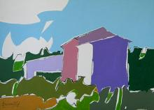 Paesaggio - Gabriele Donelli - Acrilico - 300€