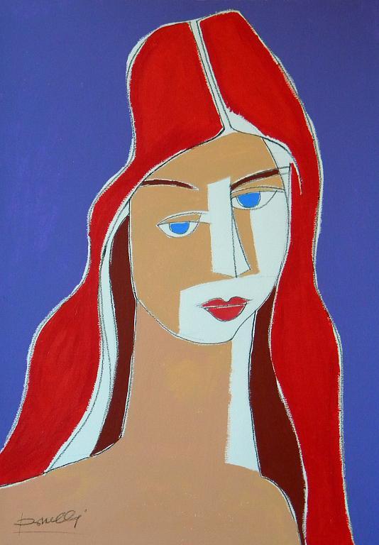 Ritratto di Jeanne Hebuterne - Gabriele Donelli - Acrilico - 400 €
