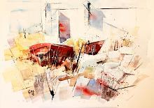 UNTITLED2015 - Guido Ferrari - acquerello e acrilico - 400€