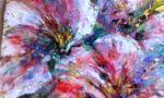 Fiori Rosa - tiziana marra - tecnica mista - 320,00€ - Venduto!