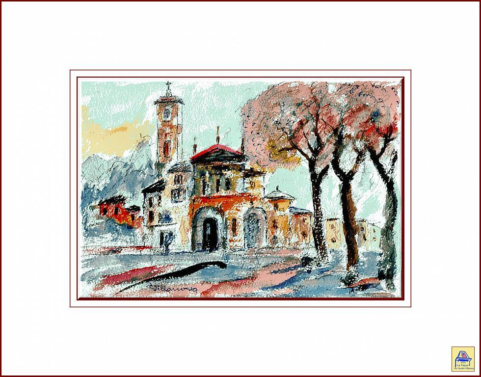 Santuario - Aurelio Villanova - Acrilico - 80 €
