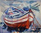 Barca - Silvia Tschauschev - Acrilico - 100€