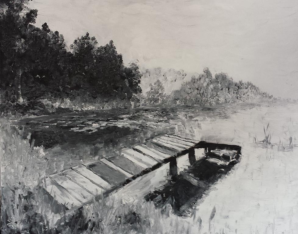 Au Lac  - Luana Marchisio - Olio
