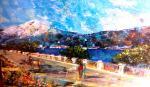 Guardando L'Etna - tiziana marra - tecnica mista - 420,00 €