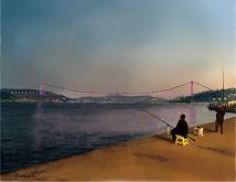 Ponte sul Bosforo - Michele De Flaviis - Digital Art - 120€