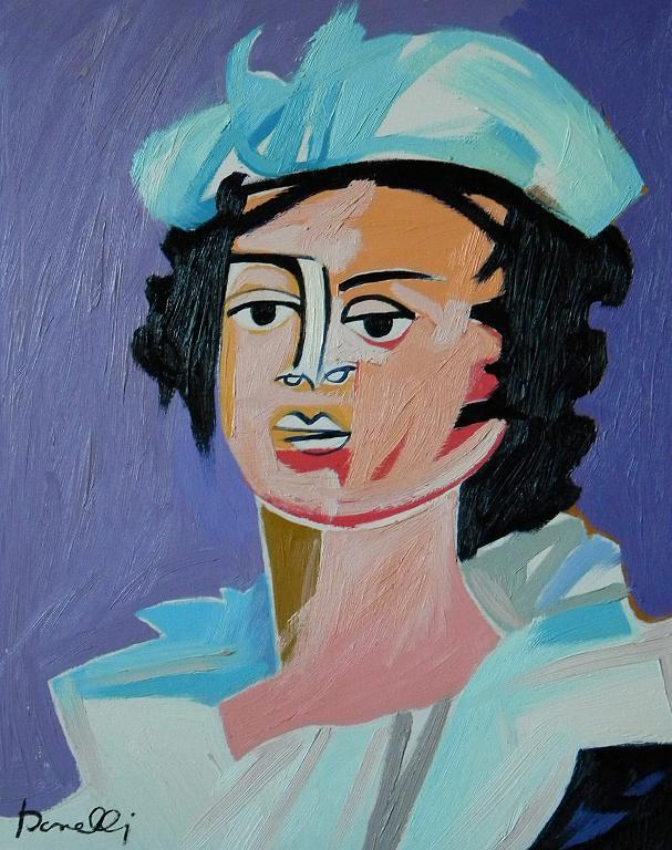Ritratto di Marie Louise Elizabeth Vigee Lebrun - Gabriele Donelli - Olio - 300 €