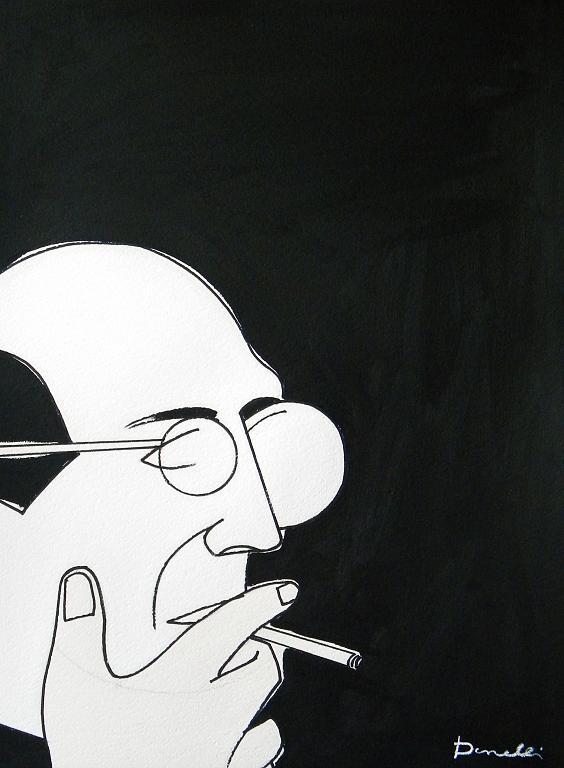 Ritratto di Mark Rothko - Gabriele Donelli - Acrilico - 400 €