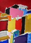 Case periferiche - Gabriele Donelli - Acrilico - 500€