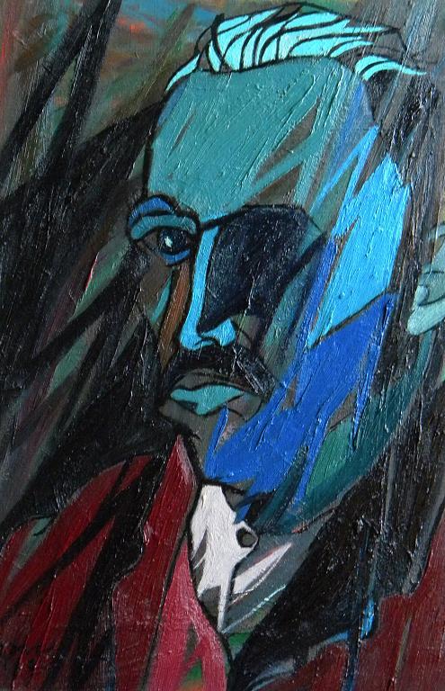 Ritratto di Vincent Van Gogh - Gabriele Donelli - Olio - 300 €