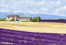 Casolare provenzale (Francia) - Michele De Flaviis - Digital Art - 150€