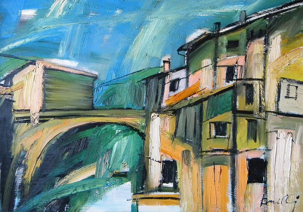 Paesaggio - Gabriele Donelli - Olio - 900 €