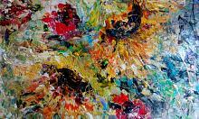Papaveri e Girasoli - tiziana marra - tecnica mista - 320,00€