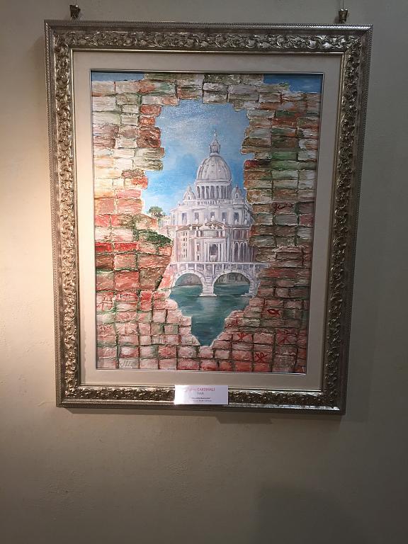 Muro della Misericordia - FABIO CARDINALI - Acrilico