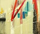 Persistenza spazio dimensionale - GIOVANNI GRECO - olio, vernice spray, stucco - 400 euro
