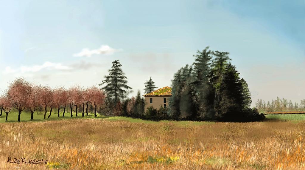 Campagna di Castel San Pietro Terme(BO) - Michele De Flaviis - Digital Art