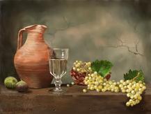 Natura morta con vaso di terracotta - Michele De Flaviis - Digital Art
