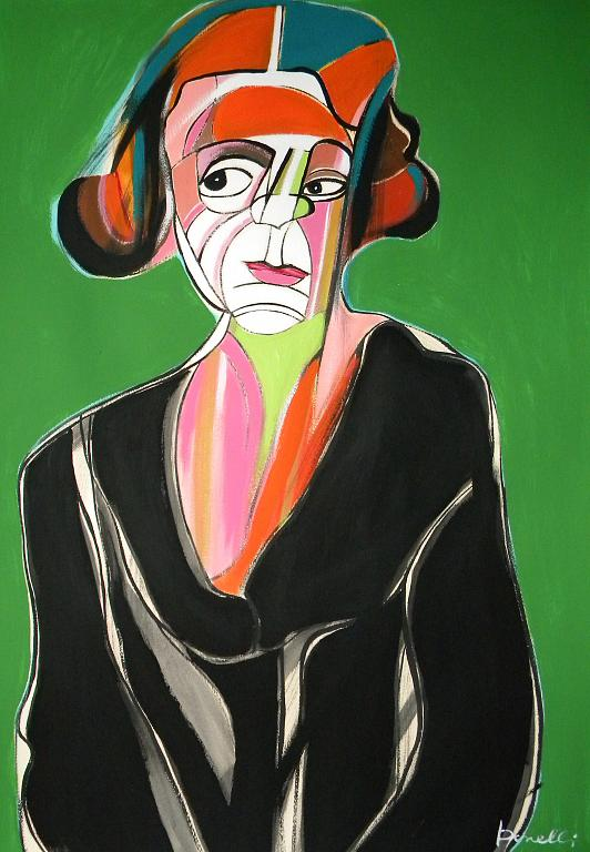 Ritratto di Olga Khokhlova - Gabriele Donelli - Acrilico - 400 €