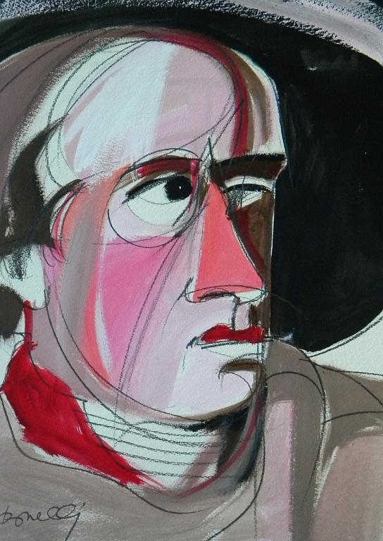 Ritratto di Wolfgang Johann Goethe - Gabriele Donelli - Acrilico - 300 €