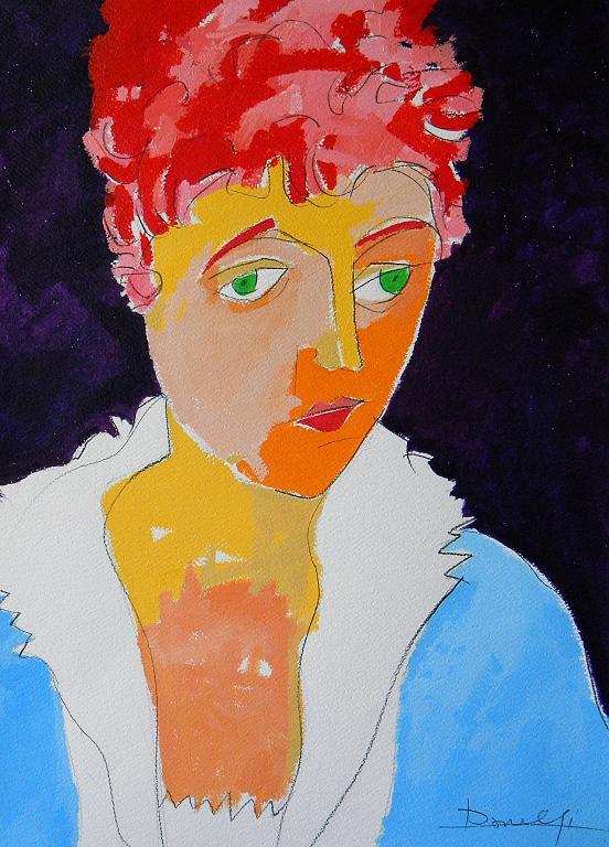 Ritratto di Edith Schiele - Gabriele Donelli - Acrilico - 300 €