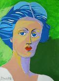 Ritratto di Vanessa Bell - Gabriele Donelli - Acrilico - 300€