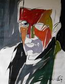 Ritratto di Aldo Busi - Gabriele Donelli - Olio - 400€