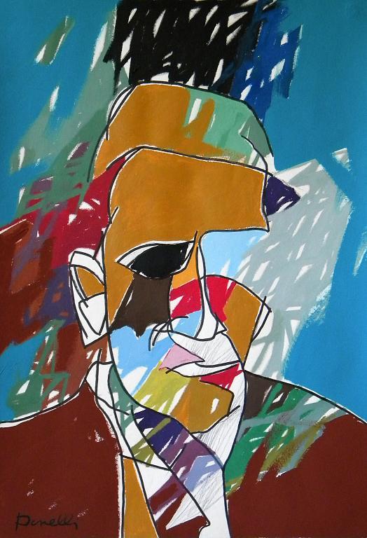 Ritratto di Giorgio Morandi - Gabriele Donelli - Acrilico - 400 €