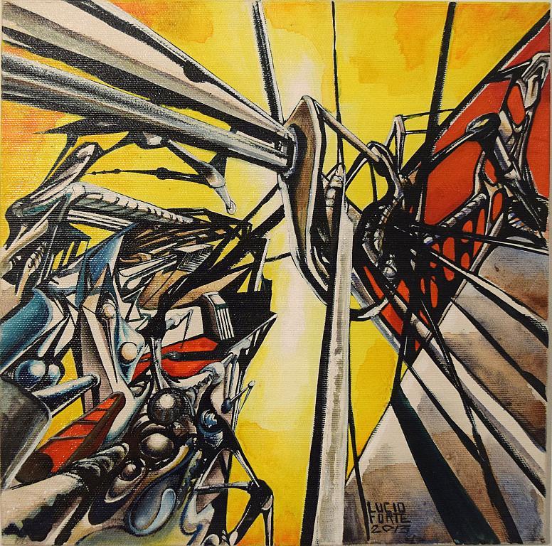 Senza Titolo 12 - Lucio Forte - Acrilico, Olio, Acquerello su tela - 270 €