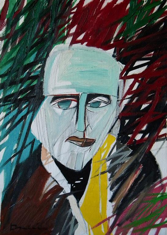 Ritratto di Wols - Gabriele Donelli - Olio - 300 €
