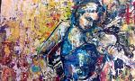 La violinista - tiziana marra - tecnica mista - 420,00€ - Venduto!