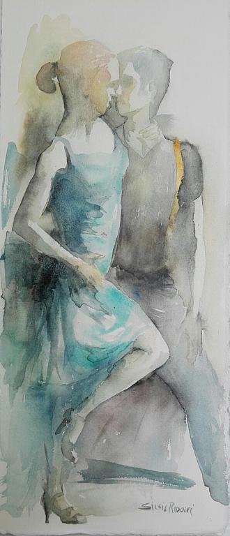 ballerini - SILVIA RIDOLFI - Acquerello - 80 €