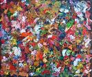 Circondato dai colori - rosario marra - Olio - 290€ - Venduto!