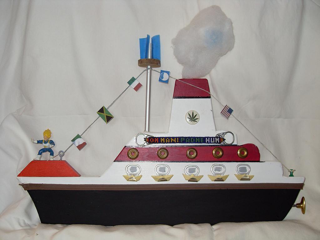 nave andrea doria - franco scacchi - Acrilico - 150 €
