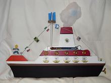 nave andrea doria - franco scacchi - Acrilico - 150€