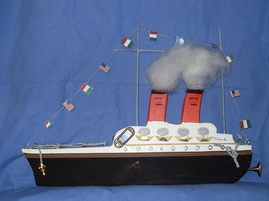nave rex - franco scacchi - Acrilico - 150 €