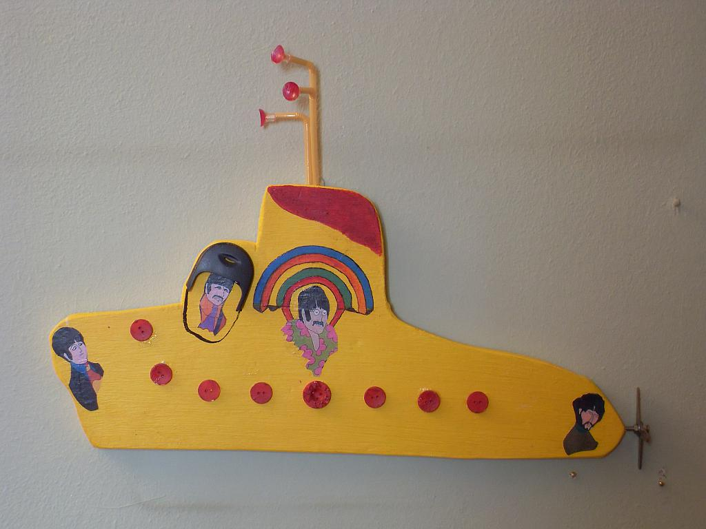 yellow submarine - franco scacchi - Acrilico - 150 €