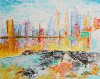 New York - francesco ottobre - Acrilico - 80€